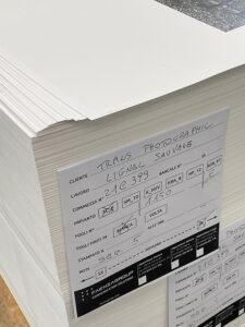 Le premier recto du premier cahier est imprimé